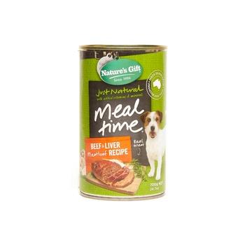 Natures Gift Dog Beef Liver & Meatloaf 700g