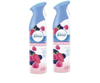 Febreze Air Freshener - Wild Berries Spray, 2 x 300 ml @ 35% Off