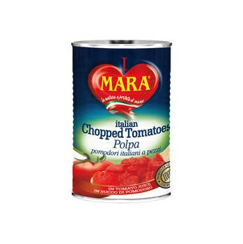 Mara Chopped Tomatoes Easy Open 400g