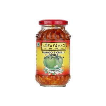 Mothers Recipe Norht Indian Style Mango & Chilli Pickle 300g