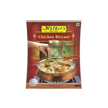 Mothers Recipe Ready To Cook Chicken Biryani Mix 100g