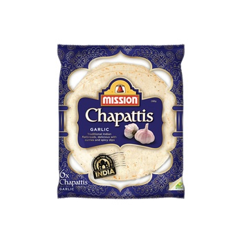 Mission Garlic Chapattis 280g