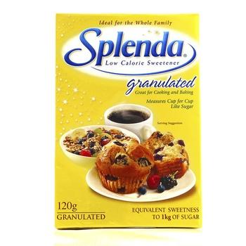 Splenda Low Calorie Sweetener Granulated 120g