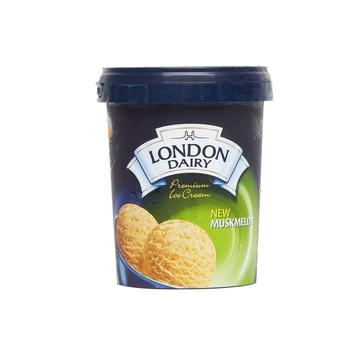London Dairy Ice Cream Musk Melon Tub 500ml