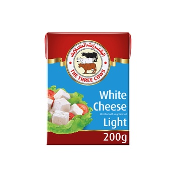 The Three Cows TTC Low Fat White Cheese 200g