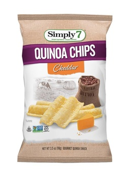 Simply7 Quinoa Cheddar 2 x 3.5 oz
