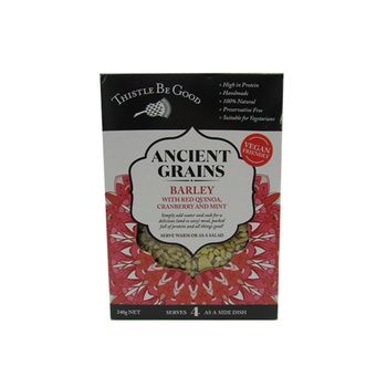 Thistle Be Good Ancient Grains - Barley With Red Quinoa Cranberry & Mint 240g