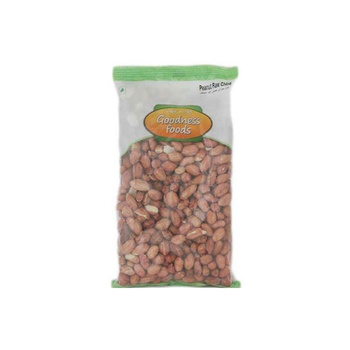 Goodness Foods Peanuts Raw China 500g