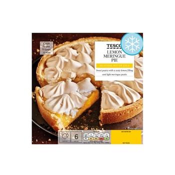 Tesco Lemon Meringue Pie 475g