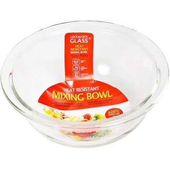 Lock & Lock Glass Mixing Bowl 15 cm - 900 ml