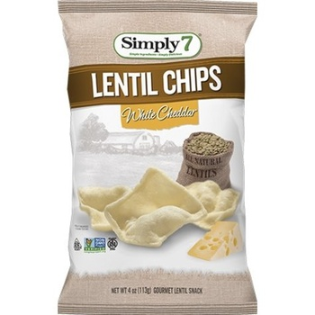 Simply7 Lentil White Cheddar 3.65Oz