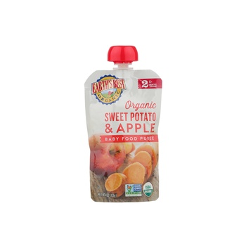 Earth's Best-Organic Sweet Potato Apple Puree 113g