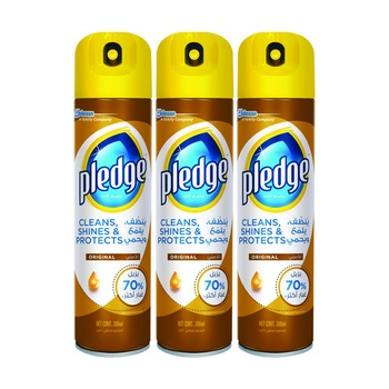 Pledge Natural Triple Pack 300ml Pack Of 3