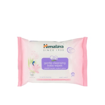 Himalaya Gentle Cleansing Baby Wipes 20 pcs