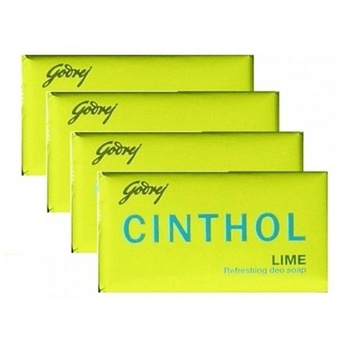Cinthol Lime Soap 175g Pack of 4