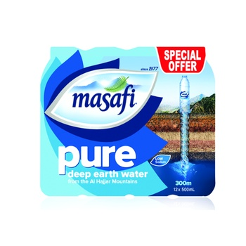 Masafi Water 12 x 500ml @ Special Price