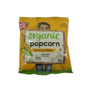 Whole Kids Organic Popcorn Manuka Honey 35g