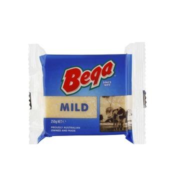 Bega Mild Cheddar Block 250g