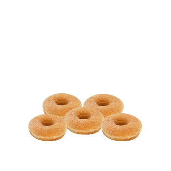 Ring doughnut sugar cinnamon 5 pcs
