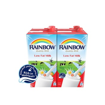 Rainbow milk low fat 1l