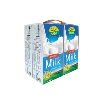 Nada UHT Milk Low Fat 4x1L
