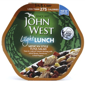 John West Mexican Style Tuna Salad 220g