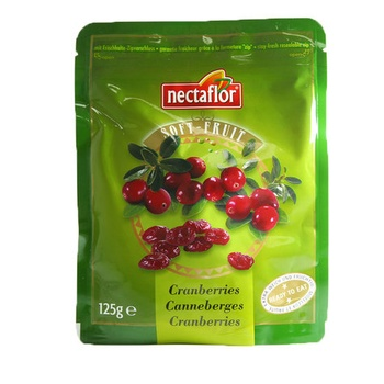 Nectaflor Soft Fruit Cranberries 125g