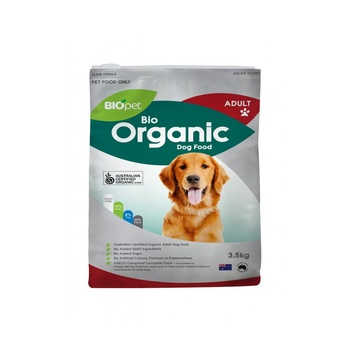 Biopet bio organic adult dog food 3.5kg