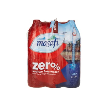 Masafi Zero 6X1.5ltr