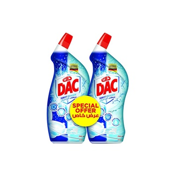 Dac toilet cleaner fresh mist twin pack 750ml