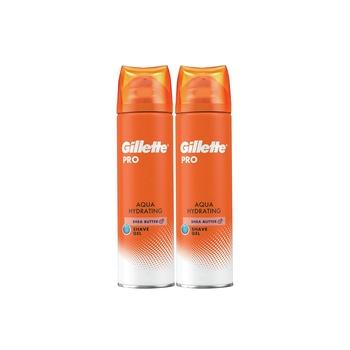 Gillette Pro Gel Aquahydra 2X200ml