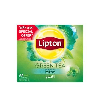 Lipton Green Tea Bag Mint 88s
