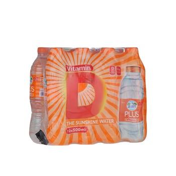 Al Ain Vitamin D Drinking Water Bottle  12x500ml