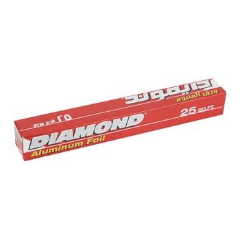 Diamond Aluminum Foil Standard 25 Sq.Ft