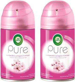 Air Wick Pure Cherry Blossom Freshmatic Refill - 2 x 250ml