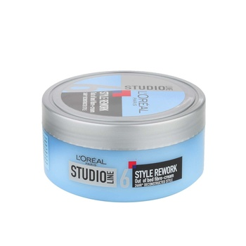 Loreal Studio Line Style Rework Out Of Bed Fibre Cream 150ml