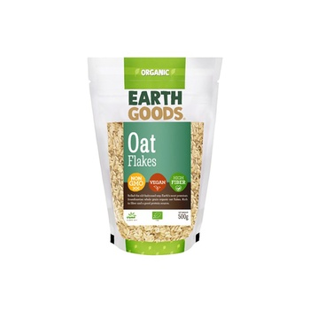 Earth Goods Organic Oat Flakes 500g