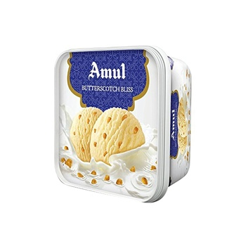 Amul Ice Crm Butterschotch Bliss 1 ltr