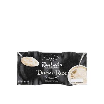Rachels Organic Divine Rice Pudding 2 X 150g