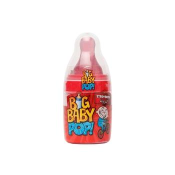Bazooka Big Baby Pop Strawberry/ Blackcurrant