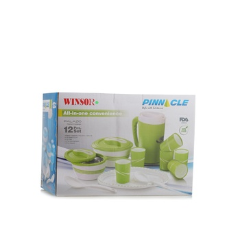 Winsor Pinnacle Palazio Thermo Container Blue Set of 12