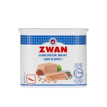 Zwan Beef Luncheon Meat Hot & Spicy 340g