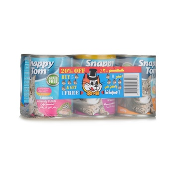 Snappy Tom Assorted Pack 400 g ( 5+1 Free)