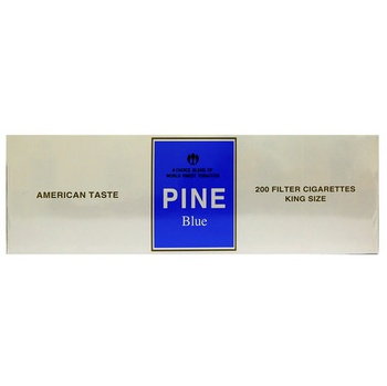 Pine Cigarettes Blue 200s