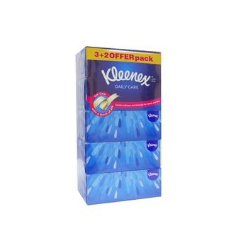 Kleenex Daily Care 5 X 170 Sheet X 2 Ply White Facial Tissue