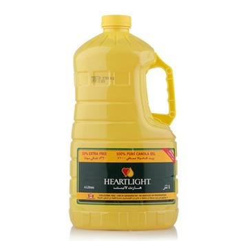 Heartlight Canola Oil 3ltr + 33% Extra