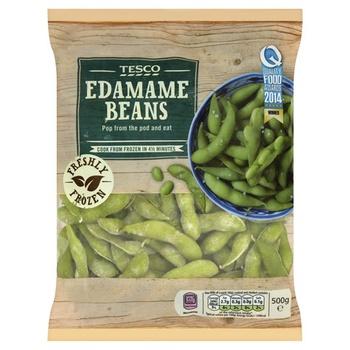 Tesco Edamame Beans 500g