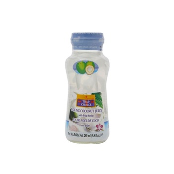 Thai Choice Young Coconut Juice Pulp Strips 280ml