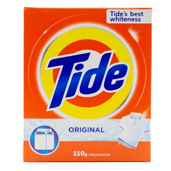 Tide Original Scent Detergent Powder 110g