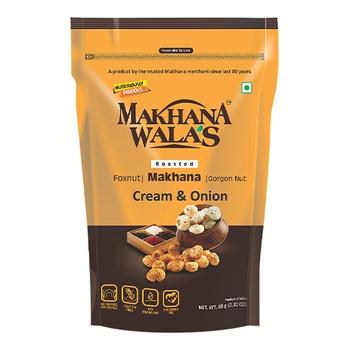 Makhanawala Rstd Mkhana Cream &Onion 80g